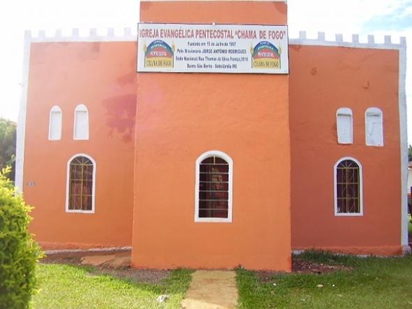 Igreja Chama de Fogo realiza festa de Aniversário do Grupo de Louvor