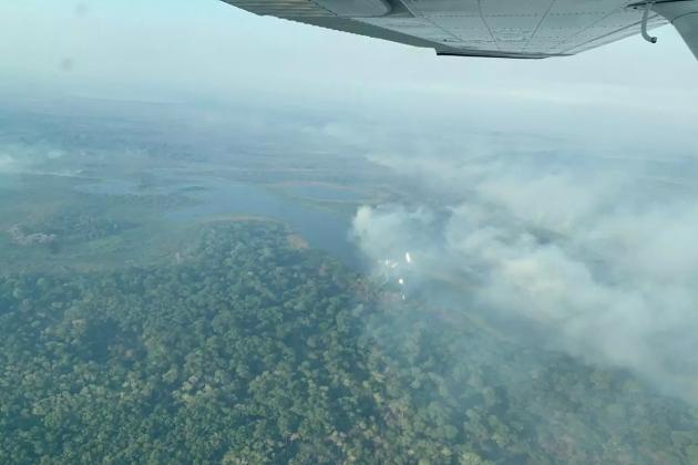 Em 24 horas, focos de queimadas no Pantanal saltam de 150 para 258