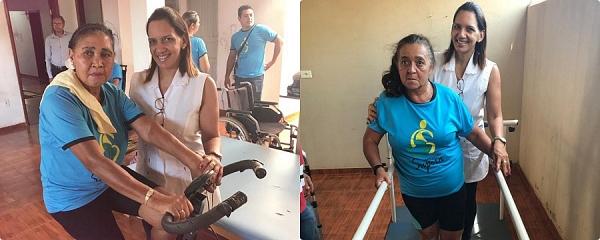 Fisioterapeuta Cida deixa Sidrolândia depois de 16 anos dedicados ao município