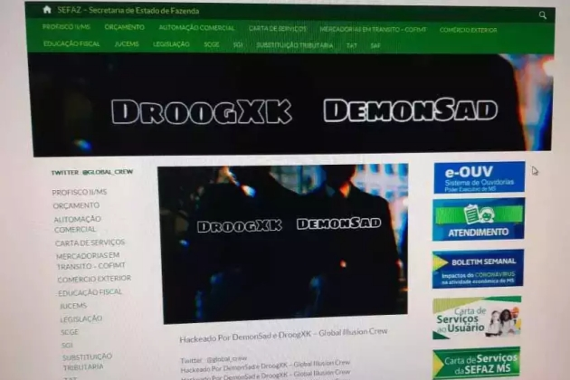Senha vulnerável facilitou ataque de Hackers em sites do Governo