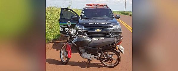 Polícia Civil prende homem e recupera moto que foi furtada em frente a igreja
