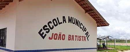 Prefeito entrega nesta segunda-feira reforma da escola João Batista no Assentamento Che Guevara