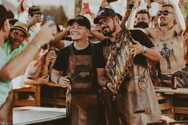 Sidrolandense trocou eventos pela cozinha e se tornou churrasqueiro de famosos da TV Globo