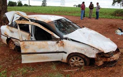 Acidente na BR-163, em Caarapó, causa a morte de bebê