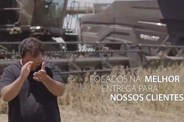 Vídeo institucional de empresa alemã: produtor de Sidrolândia é destaque