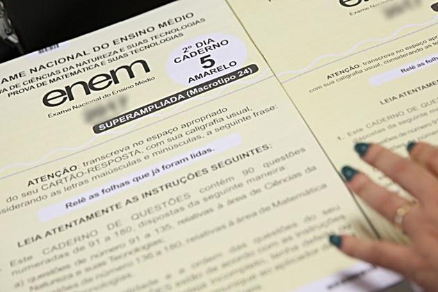 MS registra 70.396 inscrições no Enem e candidatos em 41 cidades