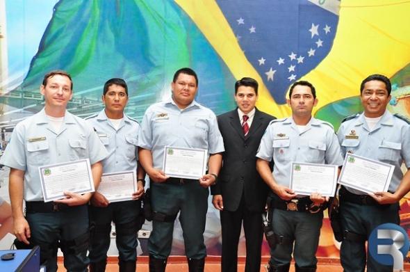 Policia Militar Rodoviária Estadual recebe Moção de Congratulação da Câmara