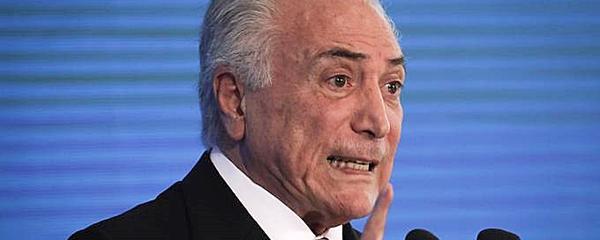 Brasil cria mais de 33 mil empregos formais em maio, diz Temer