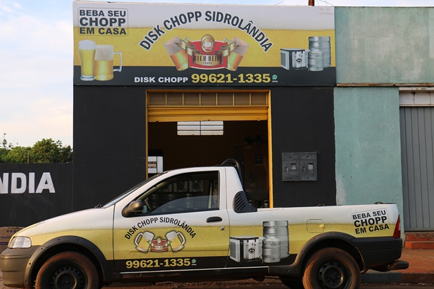 No fim de semana dos pais, Disk Chopp Sidrolândia abastece confraternizações