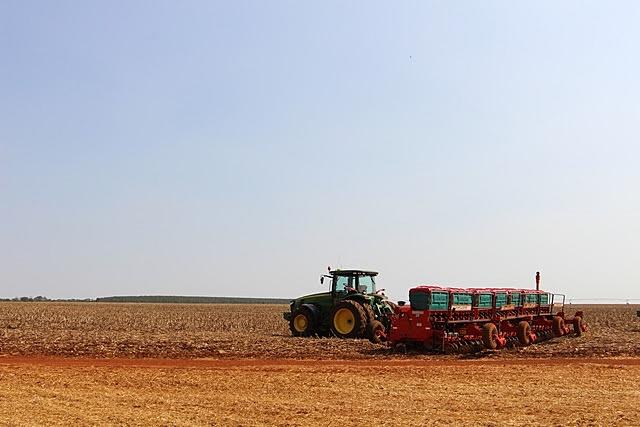 Chuvas trazem alívio a produtores de Sidrolândia que concluem plantio da safra de soja 2019/2020