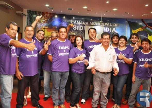 Adão é eleito com folga e garante permanência na presidência do Sindicato dos Servidores