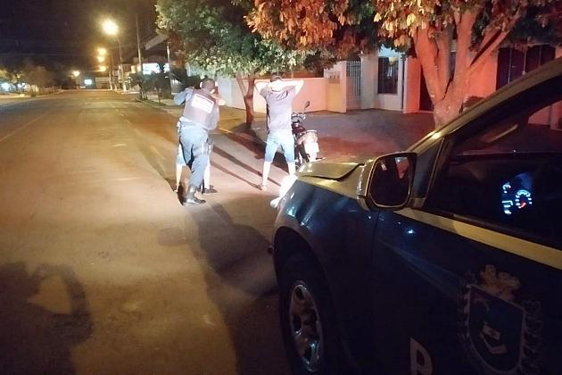 Polícia Militar de Sidrolândia realiza a operação 'Cidade segura' durante o final de semana