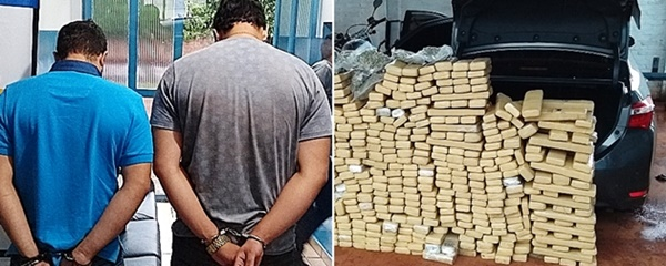 Justiça condena até 6 anos de prisão traficantes de 600 quilos de maconha