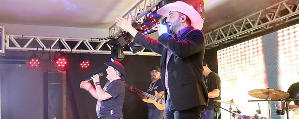 Show com Felipe e Falcão marca 13 anos do RN e abre calendário de eventos do Lions Clube de Sidrolândia