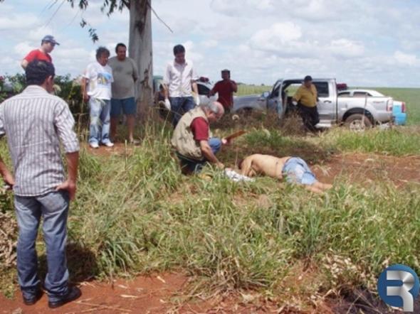 Homem é encontrado morto com 04 tiros em Rio Brilhante