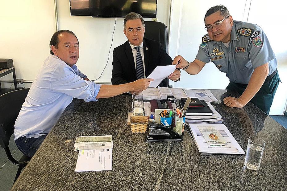 Com a intervenção de Gerson, pelotão da PM no Quebra Coco será reativado