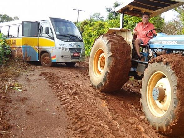 Estudantes ficam sem aula na Agrovila Formosa em Dourados