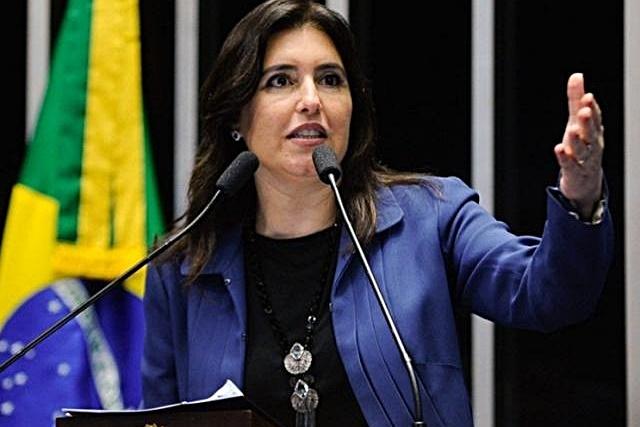 Simone Tebet vence prêmio de melhor senadora pelo 2° ano seguido