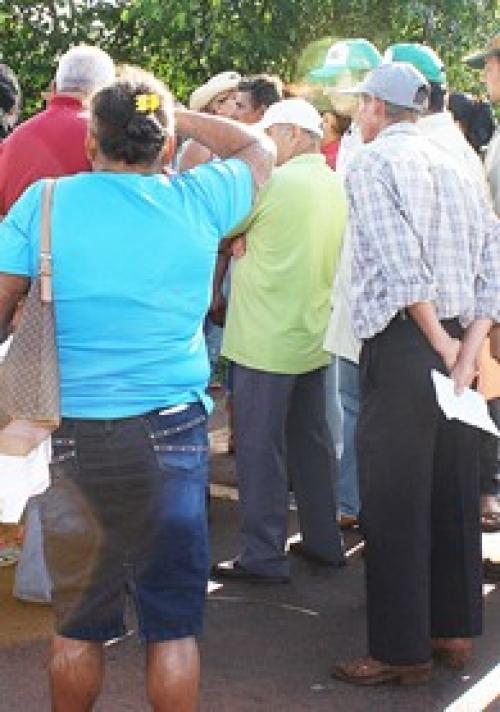 Assentados do Eldorado II se irritam com descaso do INCRA sobre moradias