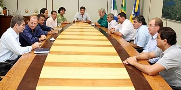 Prefeito Murilo Zauith faz primeira visita oficial na Câmara de Vereadores