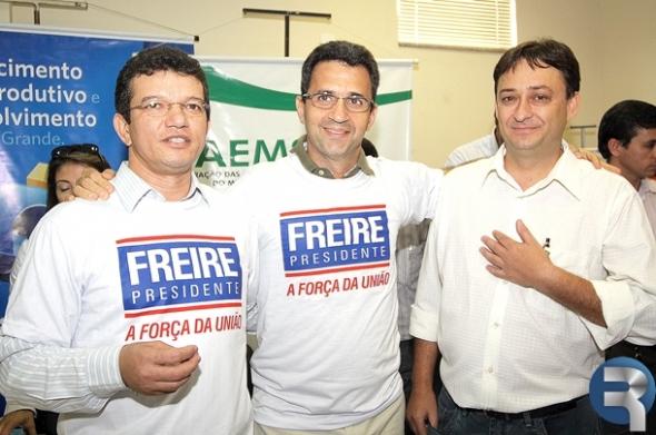 Antônio Freire é eleito presidente da Faems, com 63% dos votos