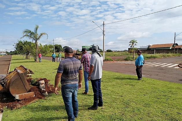 Atendendo solicitação dos moradores, Prefeitura faz retorno na Avenida Aquidaban, que dá acesso ao Jardim das Paineiras