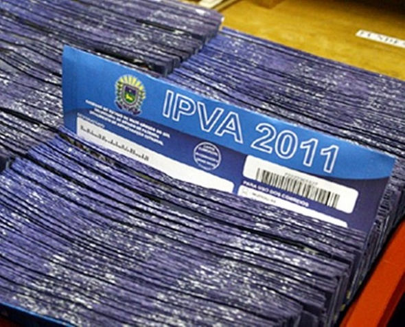 Terceira parcela do IPVA vence nesta quinta-feira