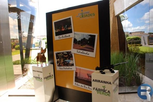 Sesi expõe ilhas dos projetos Fábrica Verde e Em Nome das Cidades