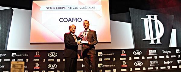 Em ranking, Coamo aparece como a melhor cooperativa agrícola do Brasil