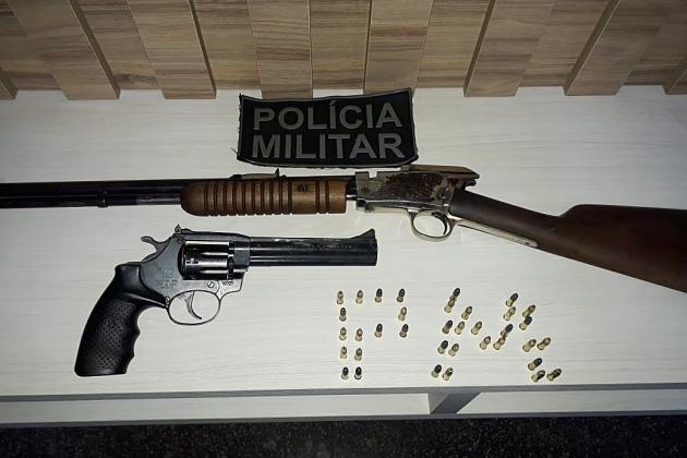 Ex-vereador paga fiança de R$ 2 mil após ser preso por porte ilegal de arma