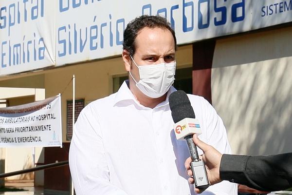Município solicita tendas ao governo do estado para pré-atendimento de casos suspeitos do coronavírus