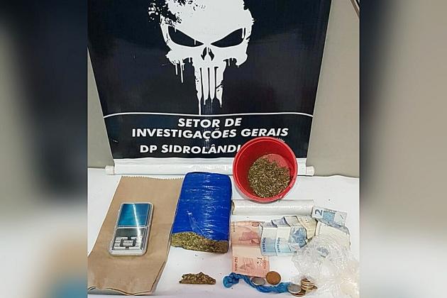 Polícia fecha duas bocas-de-fumo em condomínio na Dr. Costa Marques em Sidrolândia
