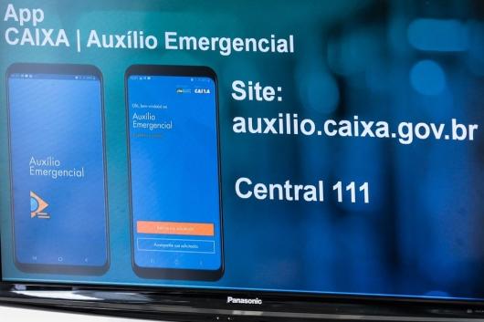 Caixa credita R$ 1,2 bi da primeira parcela do auxílio emergencial