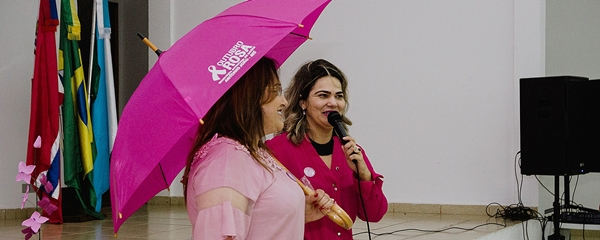 Antônio João desenvolve campanha de prevenção ao câncer de mama