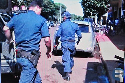 Homem é baleado estando armado com uma espingarda em Sidrolândia