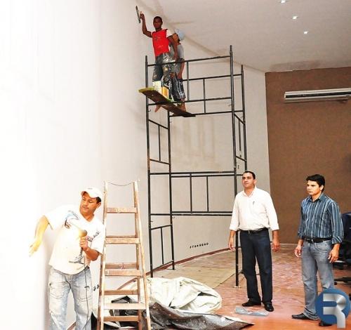 Câmara de Sidrolândia passa por reformas e obras de readequação