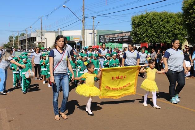 Desfile da Independência reúne 32 instituições neste sábado na Rua São Paulo