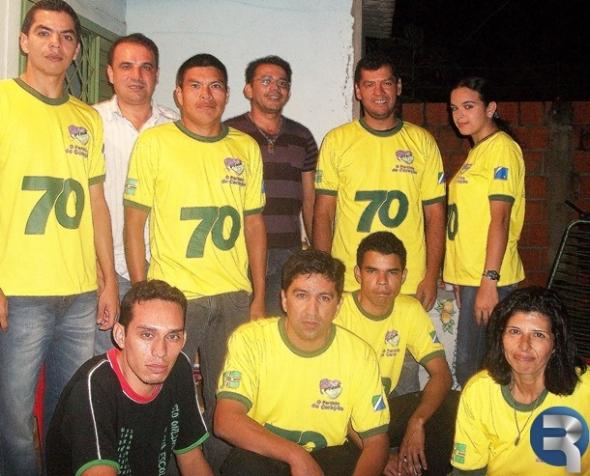 PTdoB de Sidrolândia realiza reunião com pré-candidatos