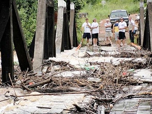 Estado precisa de R$ 35 milhões para recuperar 37 pontes