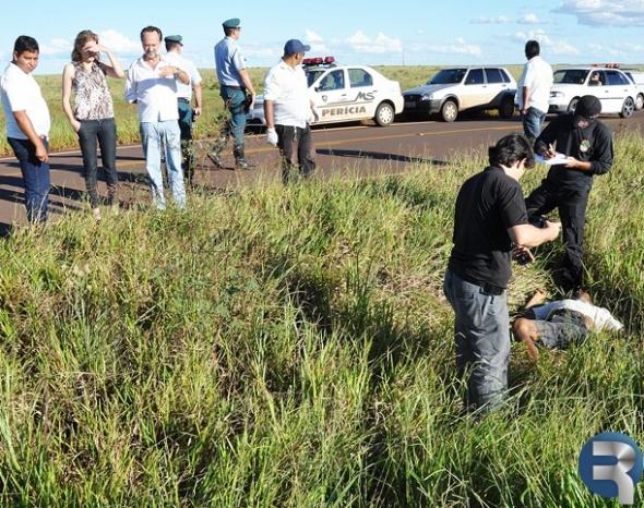 Homem é encontrado morto as margens da rodovia MS-162 em Sidrolândia