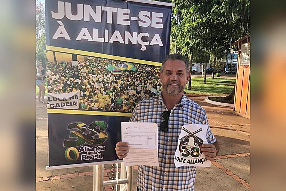 Empresário Moacyr Almeida confirma ingresso no partido Aliança pelo Brasil