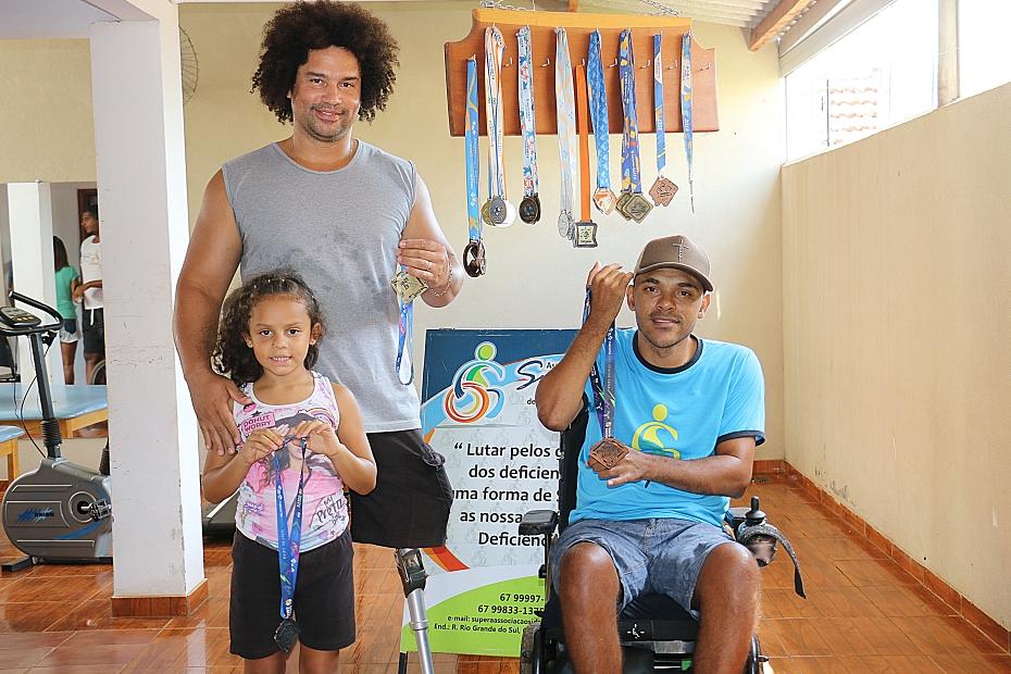 Paratleta sidrolandense conquista três medalhas em competição do Comitê paraolímpico Brasileiro