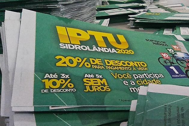 Vence nesta segunda-feira prazo para pagar IPTU com desconto de 20% para quem quitar