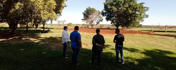 Prefeitura anuncia construção de 4 quadras poliesportivas para escolas rurais