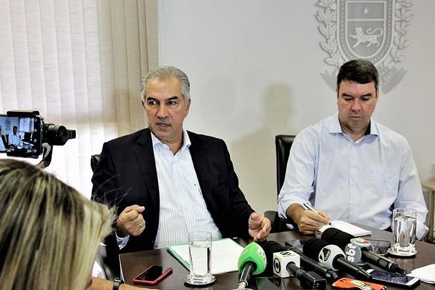 Governo garante pagar três folhas em 30 dias e injetar R$ 1,4 bilhão na economia de MS