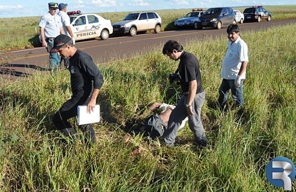 Identificado corpo encontrado as margens da MS-162 em Sidrolândia