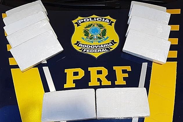 Traficante que levava 11 kg de cocaína em Pálio é condenado a quase 9 anos de prisão
