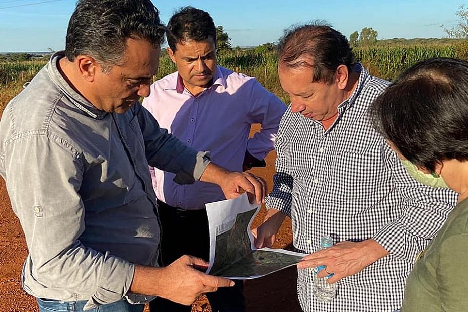 Gerson vai propor inclusão do asfalto do acesso ao Capão Bonito no planejamento do Fundersul