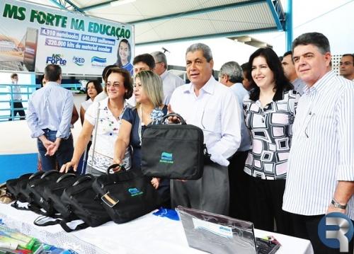 Inaugurada Escola Sidrônio Antunes de Andrade em Sidrolândia
