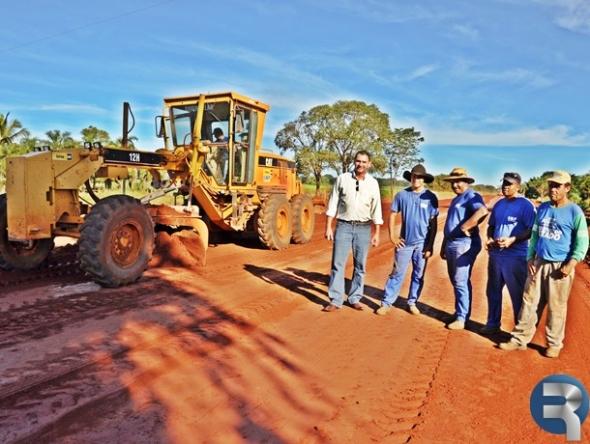 Obras de pavimentação na MS-162 deverão ser concluídas em 90 dias
